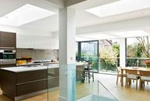 Kitchen inspiration / Are you thinking of doing a new kitchen or a kitchen extension? Here are some ideas for you :) Kitchen extension london http://www.yourloftconversionlondon.co.uk