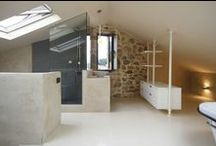 Bathroom inspiration / We've just done a loft conversion for you? Here are some ideas to decorate your new bathroom. Loft conversion london http://www.yourloftconversionlondon.co.uk