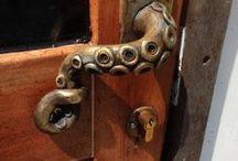Unique Door Handles / Eye catching door handles to inspire you