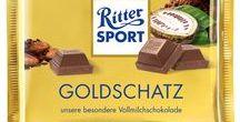 RITTER SPORT 250g Schokolade / Die 250g Großtafeln aus dem aktuellen RITTER SPORT Sortiment