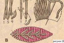 Puntos y diseños de bordado