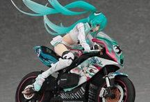 Rider Miku / PVC Figure Doll should be Enhanced Virtuality of 2 Dimensional Anime. I can feel the Depth of Love to the Character. Taking Photo of Figure is not easy way.
