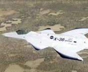 McDonnell Douglas X-36 / The McDonnell Douglas (later Boeing) X-36 Tailless Fighter Agility Research Aircraft was an American subscale prototype jet designed to fly without the traditional tail assembly found on most aircraft.