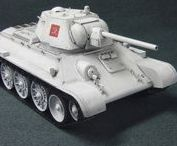 T-34/76 Medium Tank / The T-34 was a Soviet medium tank that had a profound and lasting effect on the field of tank design. Although its armour and armament were surpassed later in the war, it has often been credited as the most effective, efficient and influential tank design of the Second World War.