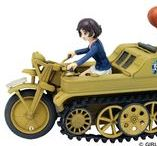 """Kleines Kettenkraftrad HK 101/SdKfz 2 / The SdKfz 2, better known as the Kleines Kettenkraftrad HK 101 or Kettenkrad for short (where Ketten means """"chain"""" or """"tracks"""" and krad is the military abbreviation of the German word Kraftrad, the administrative German term for motorcycle), started its life as a light tractor for airborne troops."""