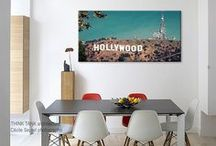 USA style / Trend wall decor with US photography