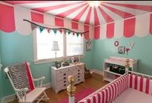 NURSERIES - GIRL / Everything you need to make your child feel comfortable and at home with cute decor and wall decals, to amazing furniture and bedding