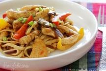 Diner recepten / Food recipes for diner