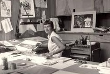 Mary Blair / Mary Blair (October 21, 1911 – July 26, 1978), born Mary Robinson, was an American artist who was prominent in producing art and animation for The Walt Disney Company, drawing concept art for such films as Alice in Wonderland, Peter Pan, Song of the South and Cinderella.[1] Blair also created character designs for enduring attractions such as Disneyland's It's a Small World, the fiesta scene in El Rio del Tiempo in the Mexico pavilion in Epcot's World Showcase, and an enormous mosaic inside Disn