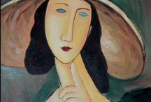 Painting: Modigliani, Amedeo / by Sam S