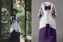 tessuti abiti e accessori antichi / abiti ed accessori di moda dal XIV al XX secolo