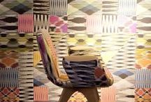 MissoniHome & Artifort / Unique chairs, Quality of Artifort dressed in an ironic MissoniHome patchwork fabric