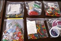 Busy bags/Quiet time bins
