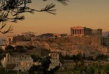 Discover Athens / #Athens is surrounded from Mount Aegaleo in the northwest, the mountains of Parnitha and Penteli in the north, Hymettus mountain from east and south bordering the coast of Athens and Attica. Piraeus is the port of Athens, from where boats depart for most of the famous #Greek islands.