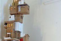 PAPIER KUNST  / Voorwerpen gemaakt van papier en karton