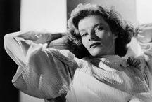 Katharine Hepburn in b&w / by Maite Pascual