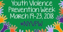 National Youth Violence Prevention Week / SAVE-Students Against Violence Everywhere is proud to be a founding partner of the National Youth Violence Prevention Campaign.
