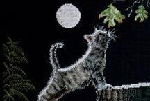 Cross Stitch: Cats / by Marisa Ruffolo