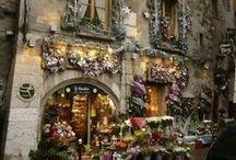Flower Shops, Markets, Little Shops