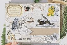 {MAIL ART} / Creative post and envelope art.