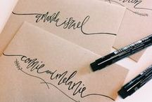 {LETTERING} / All things calligraphy, hand lettering and pens.