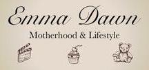 Motherhood / Pins From Emma Dawn Blog's Motherhood Section www.emmmadawn.com