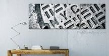 Black and white wall decor ideas / Trends black and white wall decor, gallery wall
