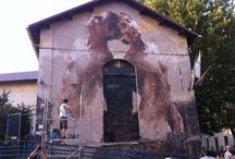 Street Art / BORONDO - 2012 - Roma, via ostiense
