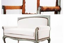Our Latest Revivals / Restored, upholstered, painted, whatever!  This is us at our best.