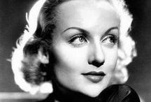 The Devine Carole Lombard / Screwball Comedian to Serious Drama Actress. / by Elaine Marriott
