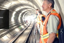 Railway / Rapid Installations for Rapid Transit! Installs As Fast As 900 Feet per Hour!