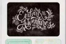 Chalkboard Art / Chalkboard art is so fun and on trend right now!
