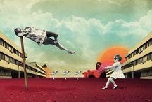 Collage//Illustrations//Prints