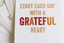 I'm grateful for... / Life is a gift. Be grateful for what you have... :)