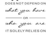Inspiring words ♥