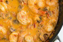 Amazing Recipes / Tomato Cream Shrimp