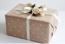 Inspirations :: Creative Wrapping ♥