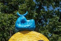 Joan Miró-sculpture / (20 April 1893 – 25 December 1983) was a Catalan, Spanish painter, sculptor