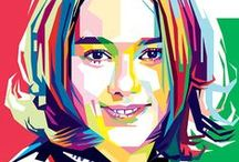 WPAP / Wedha's Pop Art Portrait Style