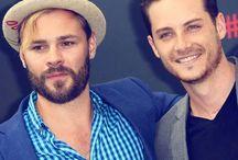 Jesse Lee Soffer  & Patrick John Flugeur / Chicago PD hotties