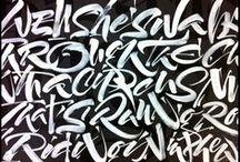 Type Hand and Brush Script