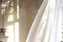 curtain / Shadow, textile, wind, light...