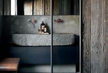 bathroom rustic