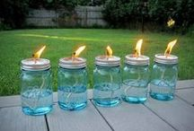 Country Craftin' / DIY and lots of uses for mason jars. That's how southerners roll.