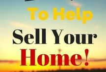 Home Selling Tips and Moving / tips to help sale, show, sellers, buyers, what to do, how to,  preparing to moving, move, packing, organizing, staging, lighting, curb appeal