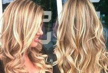 Hairspiration / Pictures of the beautiful natural blond haircolor that I like, ideas for everyday hairdos and tips how to tame frizzy hair.