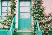Garden, Balcony