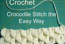 CROCHET STITCHES(Puntos de crochet) / by Lilia Herrera