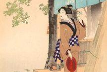 Ukiyoe / フリーの浮世絵素材を集めるボード