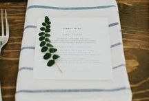 Table Settings. / by Elise Keithley